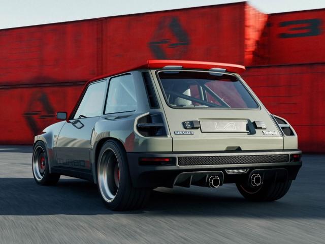 Renault 5 Turbo 3 restomod 6