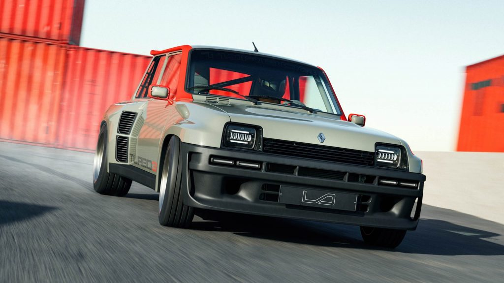 Renault 5 Turbo 3 restomod 7