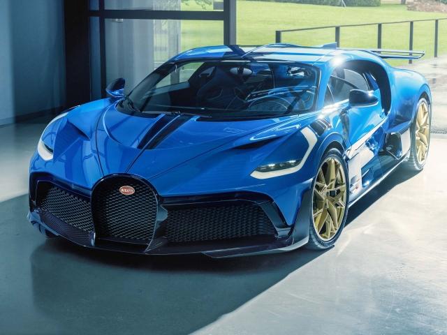 Último Bugatti Divo 4