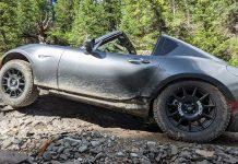 Mazda Miata offroad
