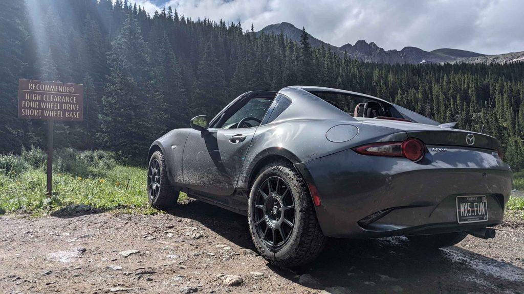 Mazda Miata offroad USA 1