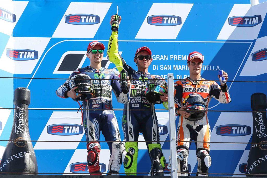 Valentino Rossi se retira de MotoGP 1