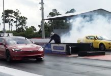 Dodge Demon Tesla Plaid