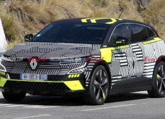 Espía Renault Mégane E-Tech