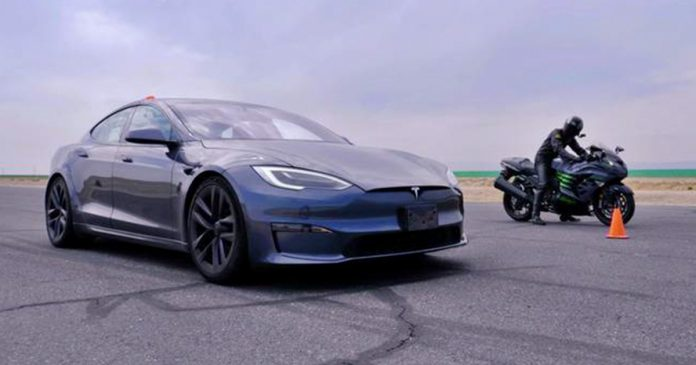 Tesla Hayabusa Ninja