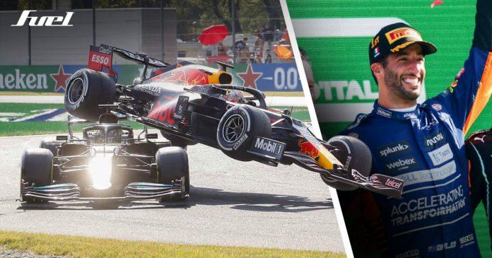 Ricciardo Gran Premio Italia