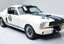 Shelby Mustang Stirling Moss