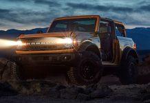 Ford Bronco facelift