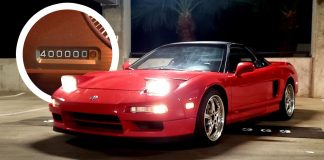 Honda NSX 640.000 Kilómetros