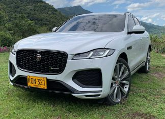 Jaguar F-pace 2021 Colombia