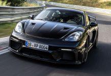 Porsche Cayman GT4 Nürburgring