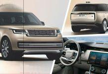 Range Rover 2022 filtrada